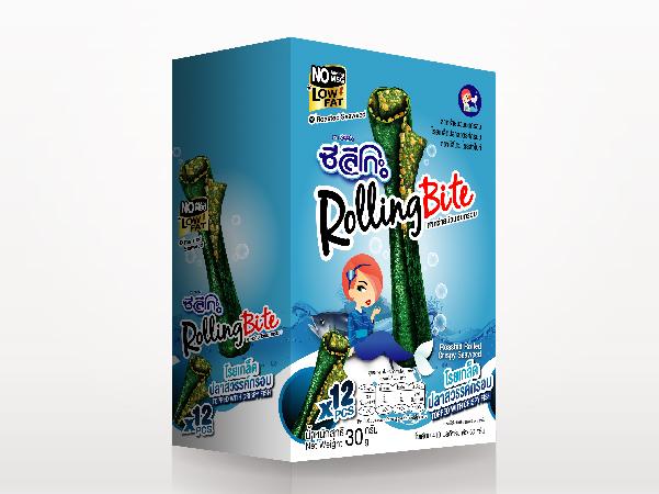 ซีลีโกะ Rolling Bite โรยเกล็ดปลาสวรรค์กรอบ (รุ่นกล่อง) 30 กรัม