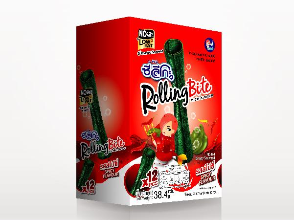 ซีลีโกะ Rolling Bite รสสไปซี่ (รุ่นกล่อง) 38.40 กรัม