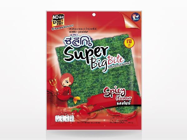 ซีลีโกะ Super Big Bite รสสไปซี่  50 กรัม